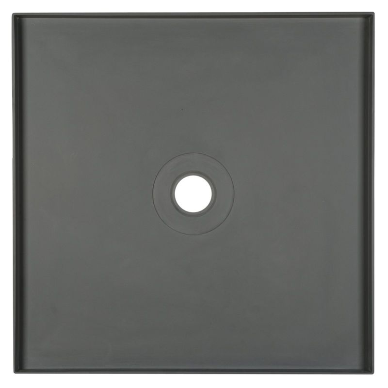 Rumba Shower Tile Tray Square with Centre Outlet