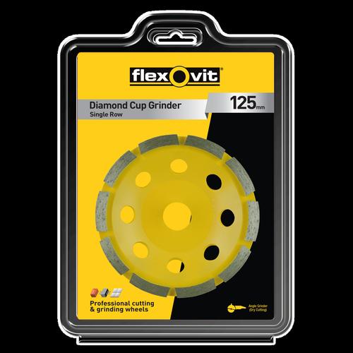 Flexovit 125mm Diamond Cup Grinder