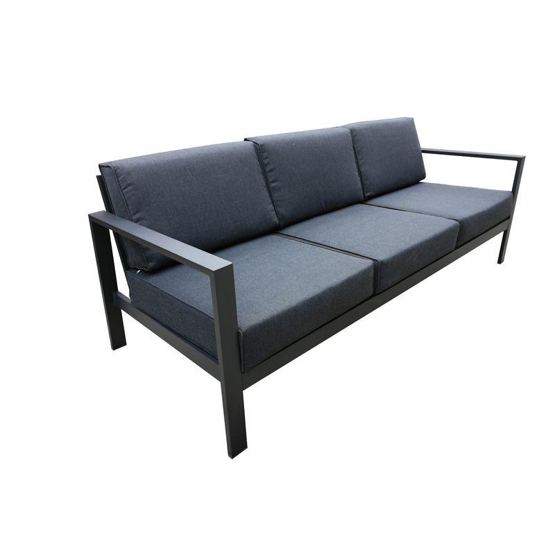 Aluminium Lava 3 Seater Sofa