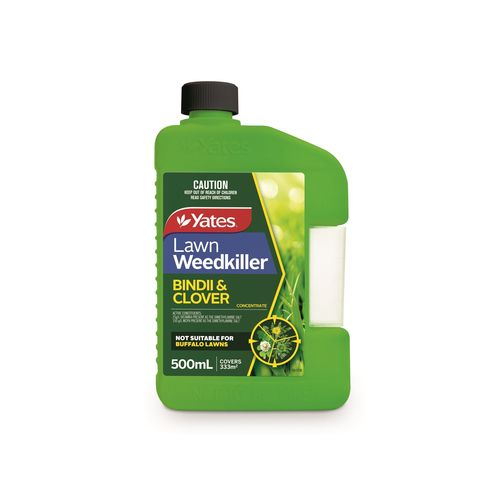 Yates 500ml Bindii And Clover Lawn Weedkiller Concentrate