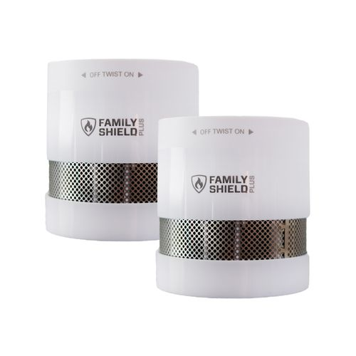 Family Shield Mini Smoke Alarm Twin