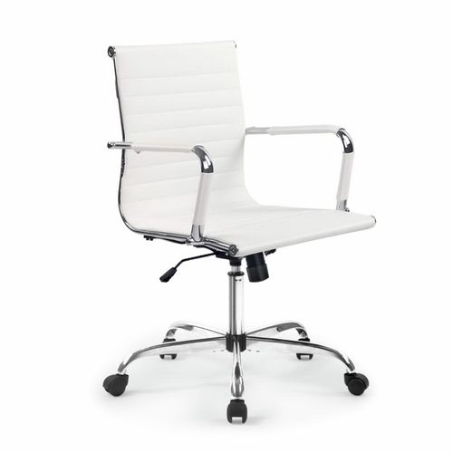 Artiss White Eames Replica Mid Back Office Chair