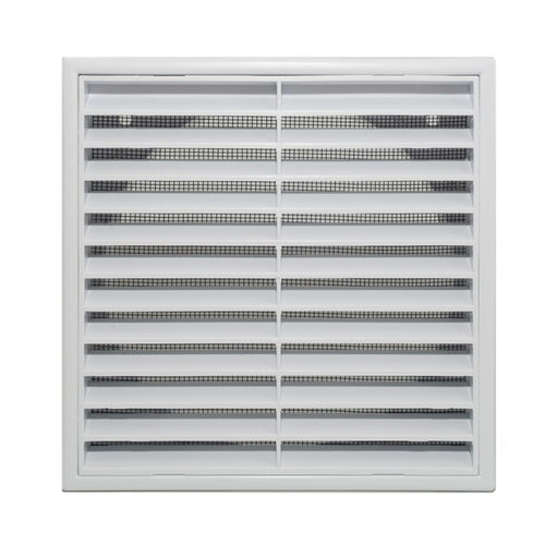 Builders Edge 150mm White Grill Vent with Insect Screen