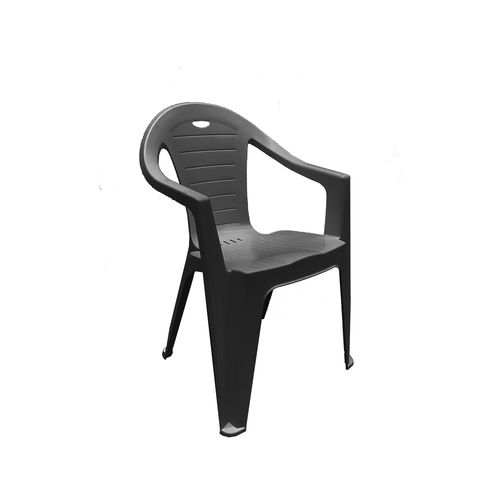 Marquee Anthracite Pisa Bistro Resin Chair
