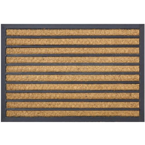 Madras Link 40 x 60cm Panama Stripe Outdoor Coir Mat