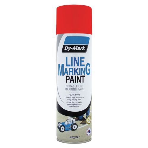 Dy-Mark 500g Red Line Marking Spray Paint