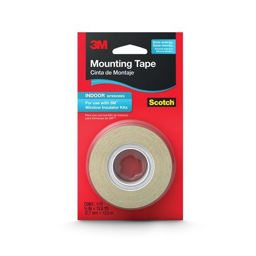 Scotch 12.7mm x 12.6m Indoor Window Film Double Sided Mounting Tape