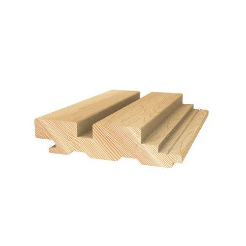 Porta Contours 78 x 21mm 1.8m Strata Clear Pine Lining Board