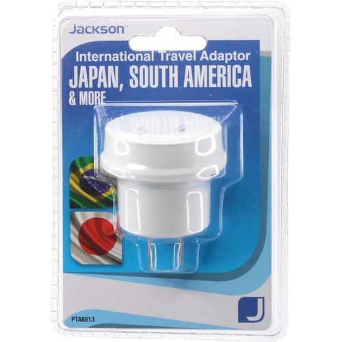 Jackson Japan And South America Outbound Travel Adaptor