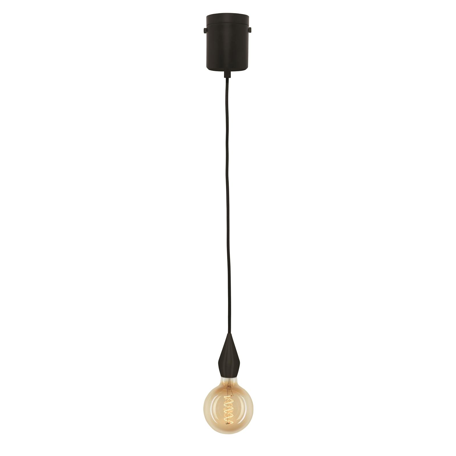 Brilliant Matte Black Odette DIY Suspension Light