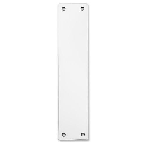 Lemaar 300 x 75 x 2.5mm Satin Stainless Steel Push Plate