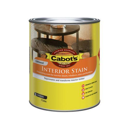 Cabot's 1L Jarrah Interior Stain