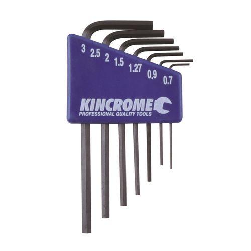 Kincrome 7 Piece Metric Mini Hex Key Wrench Set