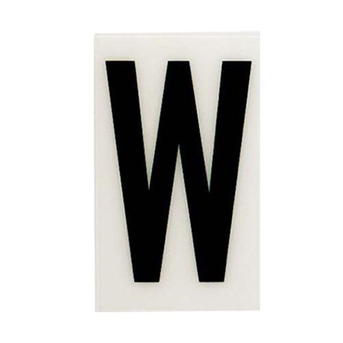 Sandleford 85 x 55mm W White Self Adhesive Letter