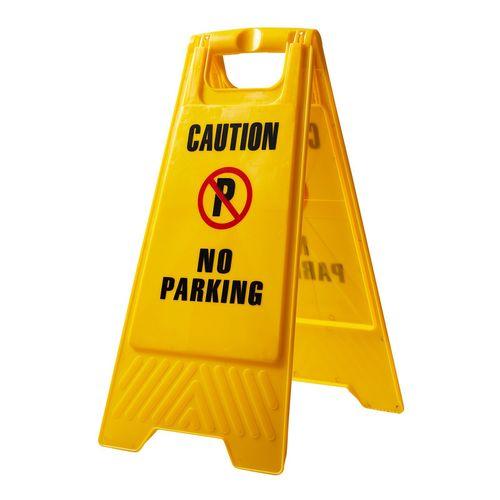 Caution No Parking A Frame Sign
