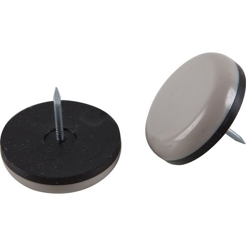 Surface Gard 32mm Round Nail On Slide Glides - 4 Pack
