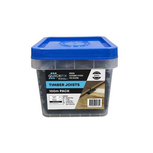 Ekologix Quickfix Concealed Kit - 100m Pack