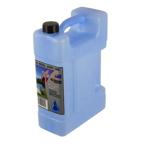 AdVenture Products 5L Blue Water Jerry Can