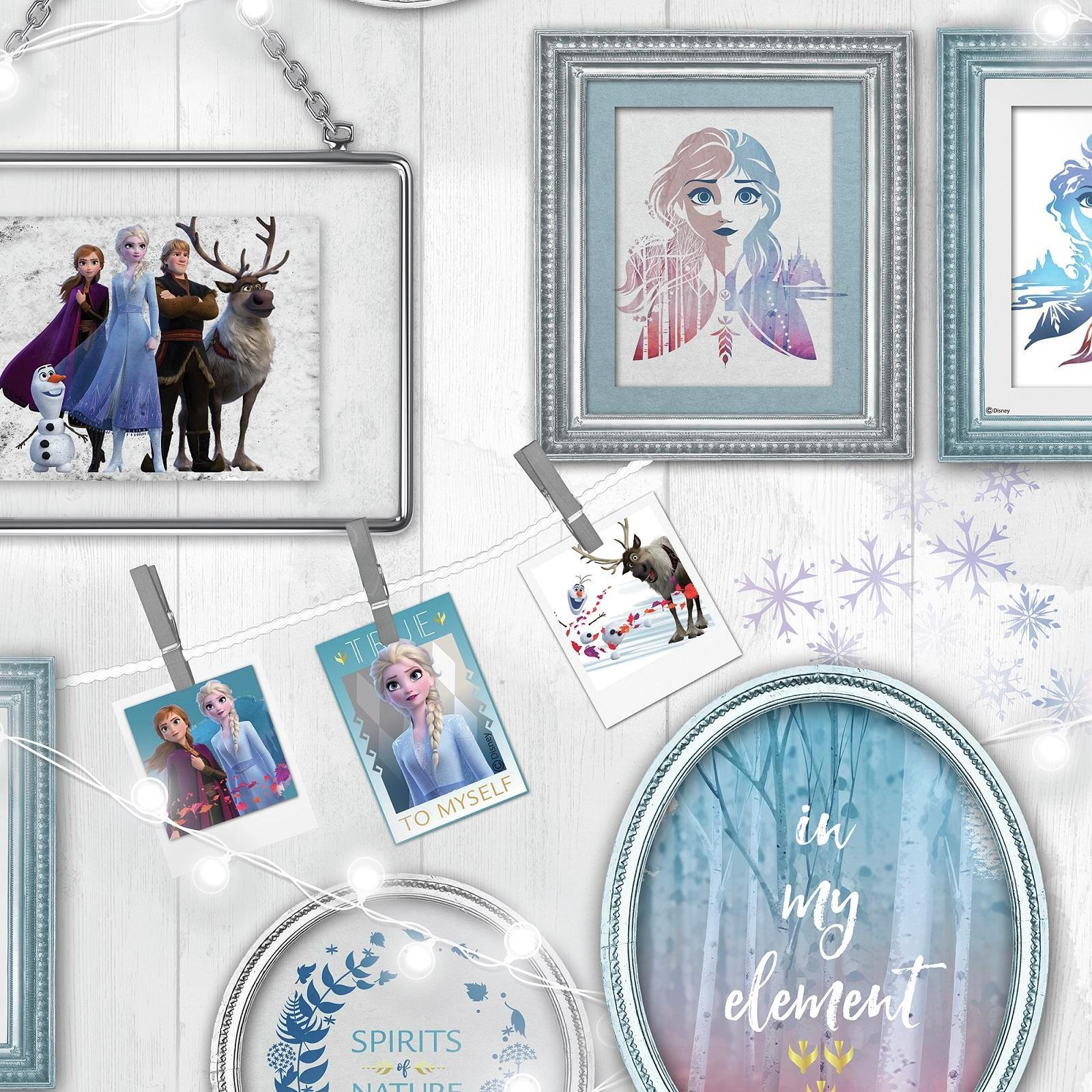 Disney 52cm x 10m Frozen Frames Wallpaper