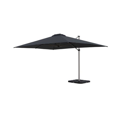 Coolaroo 3 x 4m Charcoal Brampton Cantilever Umbrella