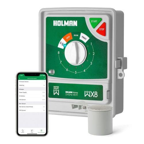 Holman WX8 Wi-Fi Irrigation Controller With EVIE Sensor