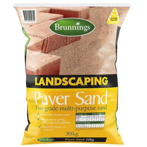 Brunnings 20kg Landscape Paver Sand