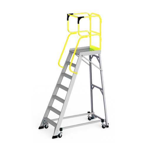 Bailey 1.93m 150kg Industrial Aluminium Order Picking Platform 7