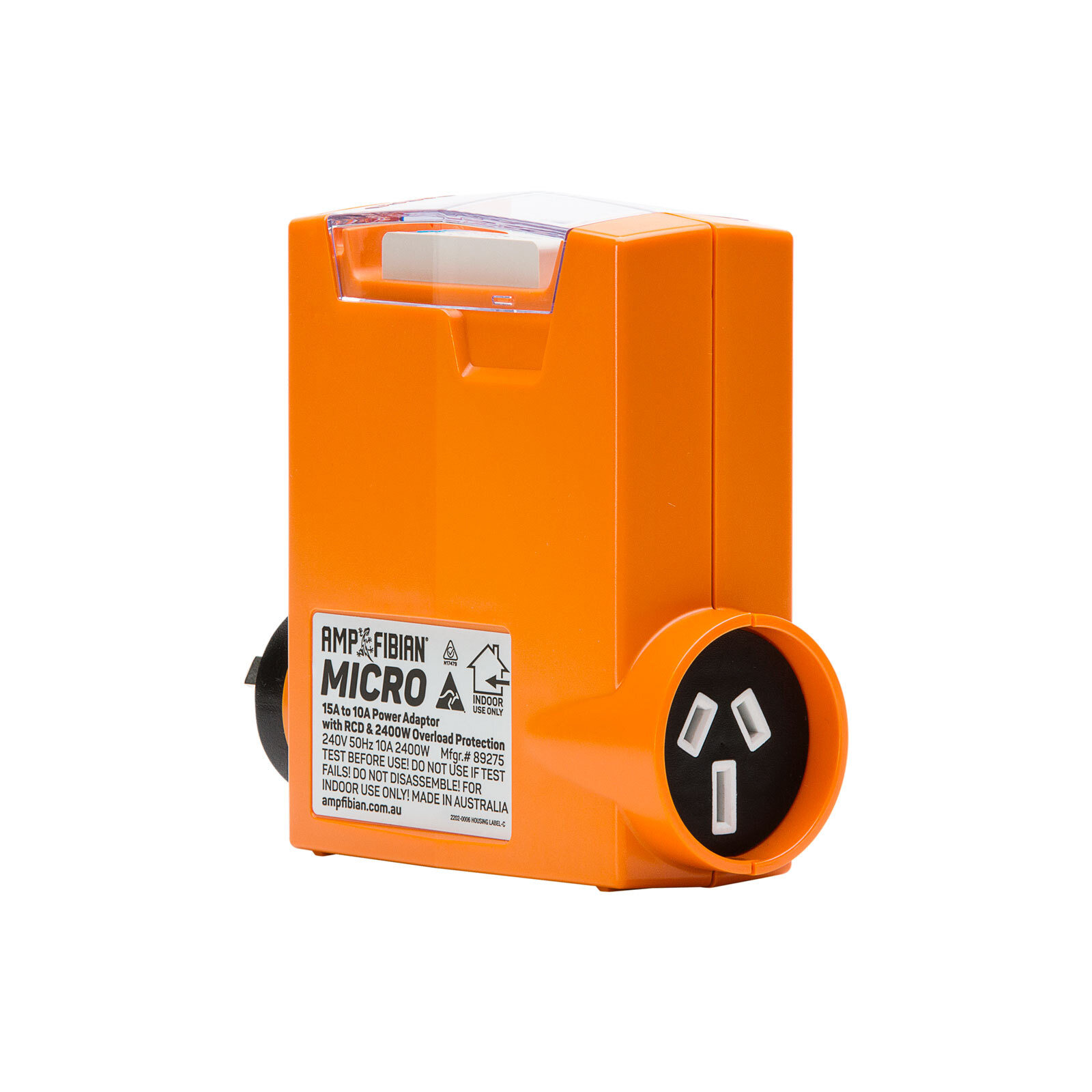 Ampfibian 15A To 10A Micro Compact Power Adaptor