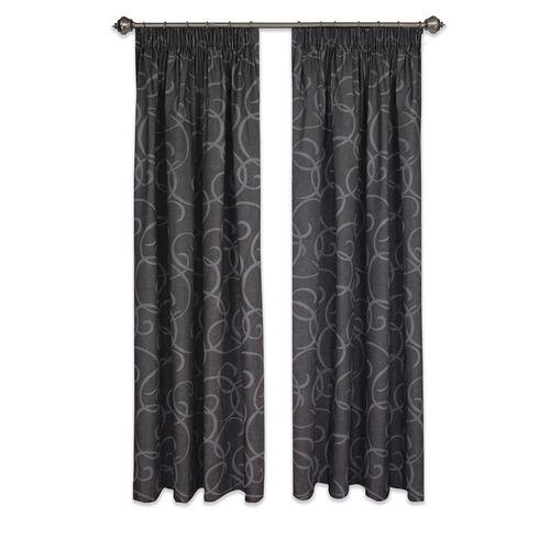 Homebase 1.5 - 2.3 x 2.05m Swirl Thermal Curtain