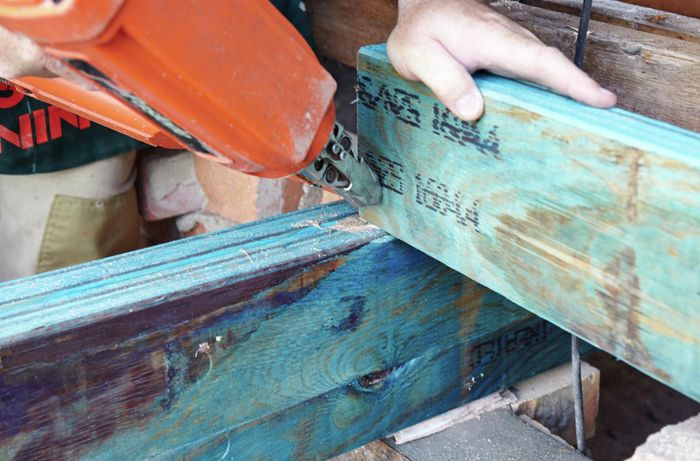 DIY Step Image - How to install a subfloor . Blob storage upload.