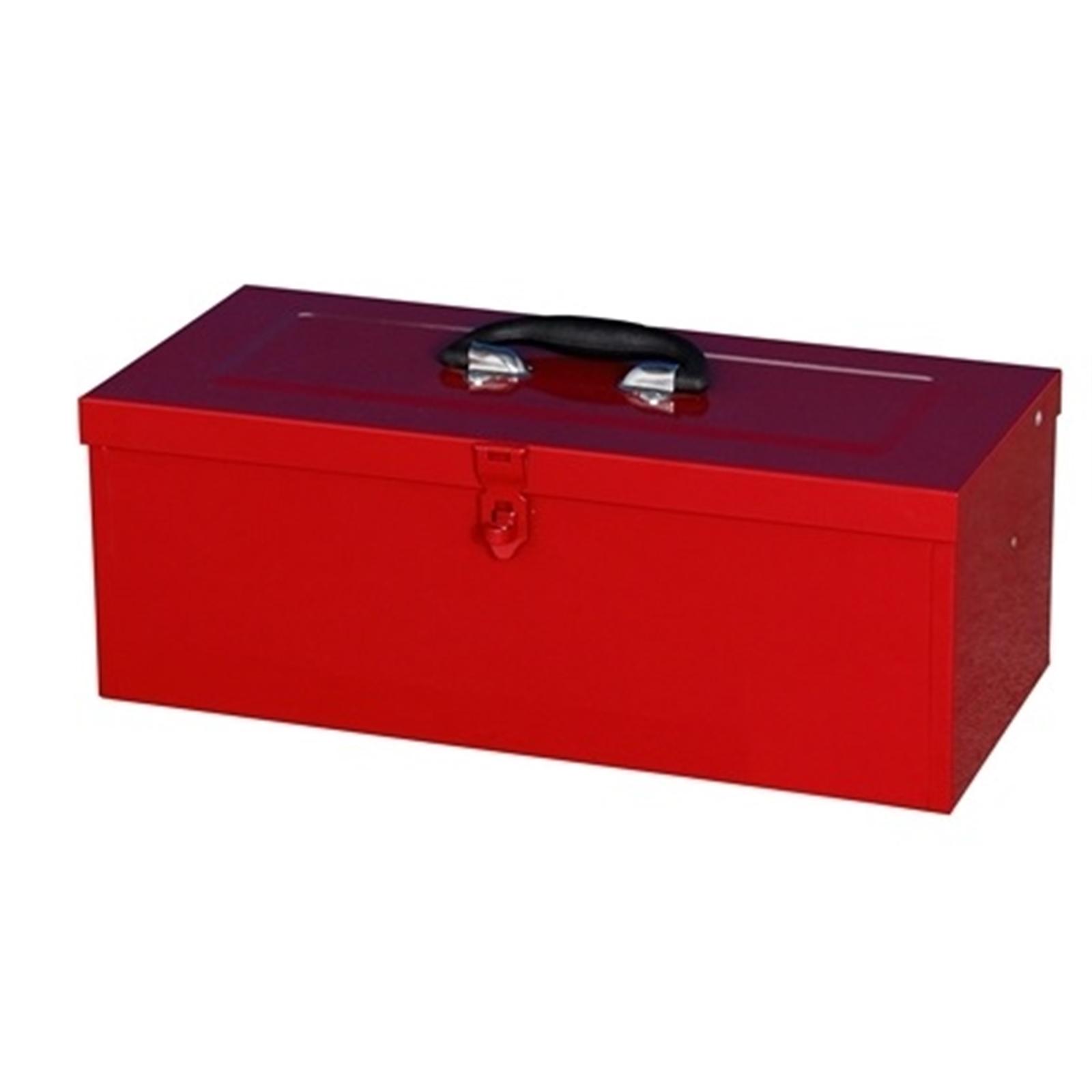 Craftright Tool Box Metal  460mm Red