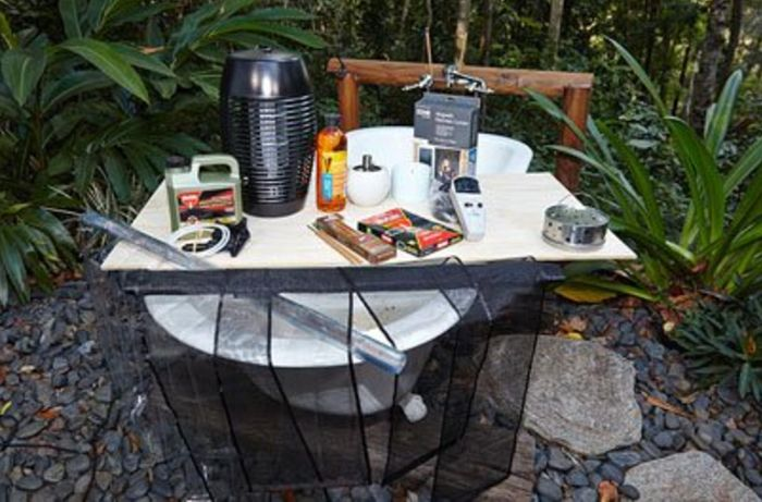A range of citronella candles and burners