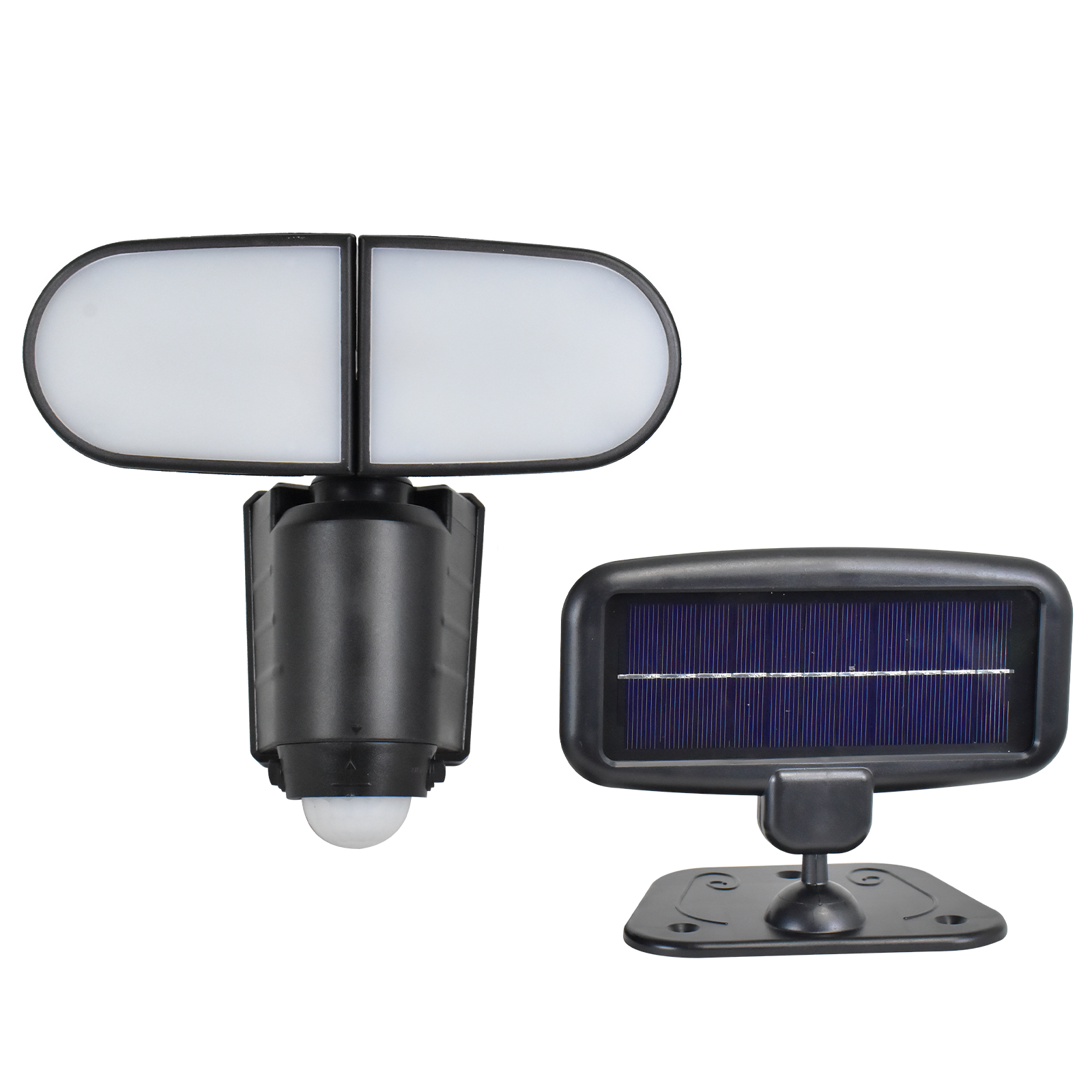 Click Victor Solar LED Security Light