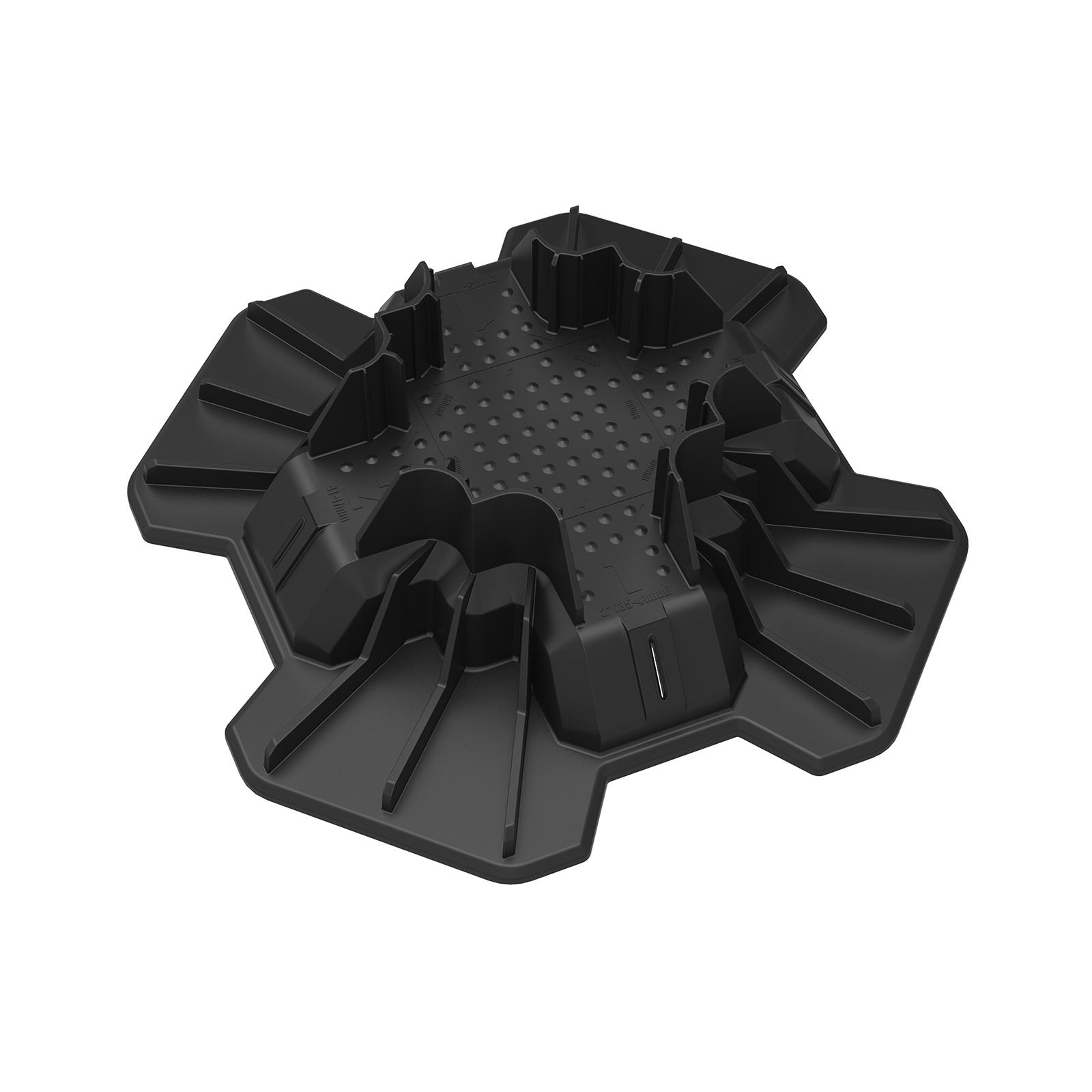 TuffBlock 300 x 300 x 90mm Instant Foundation System Deck Support