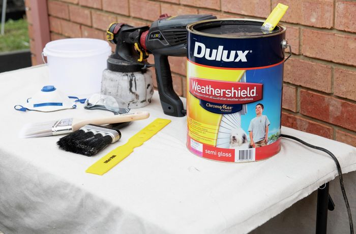 The tools and materials you'll need to complete this project