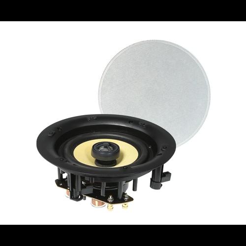 "TDJ 6.5"" Studio Acoustics 2-Way In-Wall/Ceiling Frameless Stereo Speakers"
