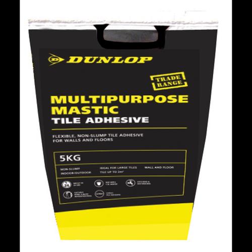 Dunlop 5kg Mastic Powder Multipurpose Tile Adhesive