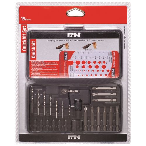 P&N Quickbit Drill Bit Set