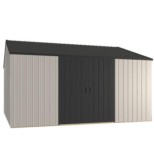 Duratuf Kiwi MK4C 4.210 x 4.210m Pre-Painted Steel Shed