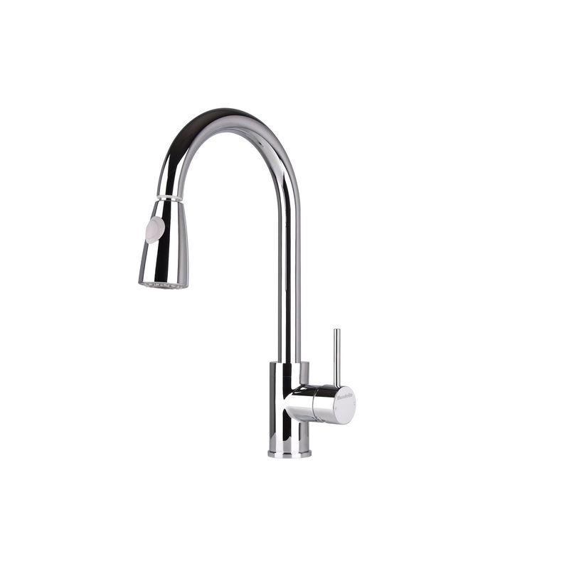 Cadenza Vege Spray Round Side Lever Sink Mixer
