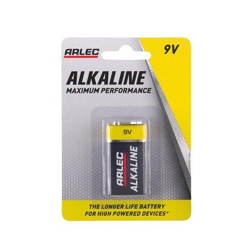 Arlec 9V Alkaline Battery