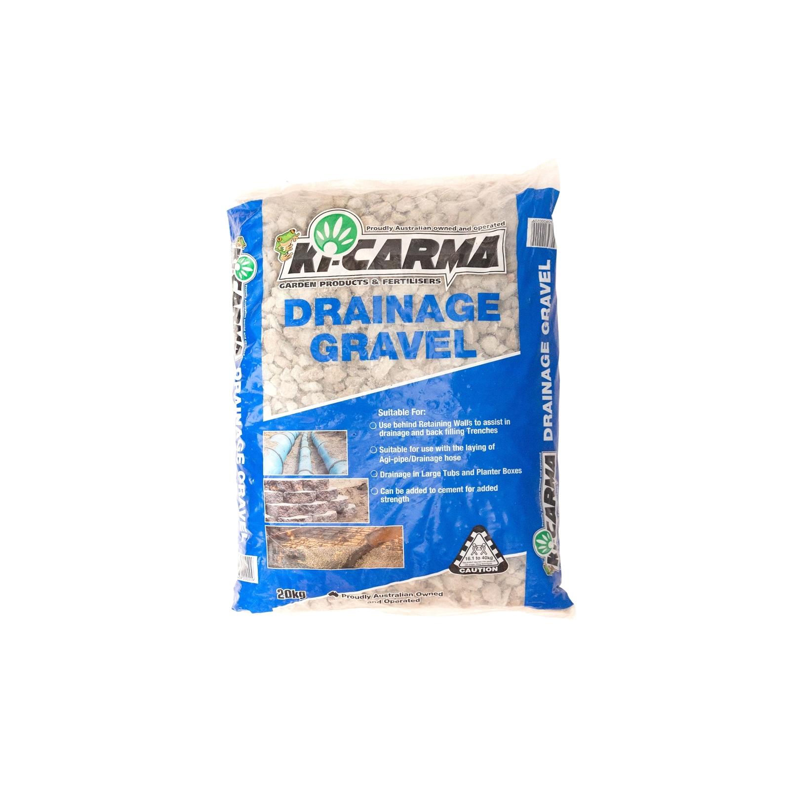 Ki-Carma 20kg 10-20mm Drainage Gravel