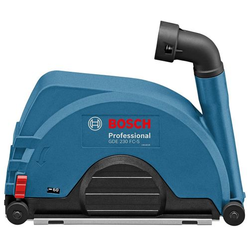 Bosch Blue 230mm GDE 230 FC-S Dust Extraction Cutting Guard For Angle Grinders