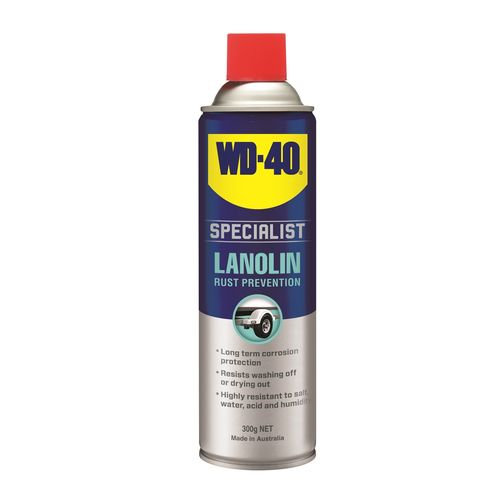 WD-40 Specialist 300g Rust Prevention Lanolin Lubricant