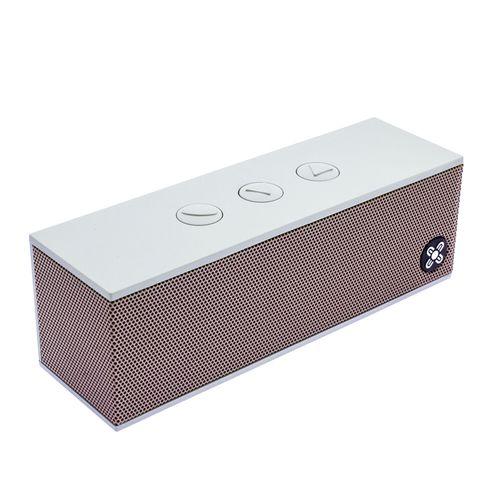 Moki BassBox Portable Wireless Bluetooth Speaker w/Volume Control/Mic Rose Gold
