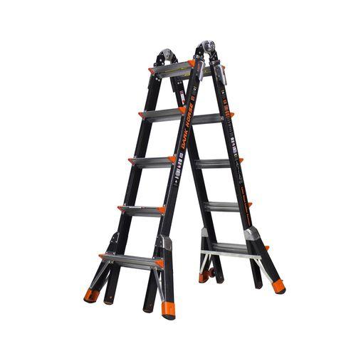 Little Giant Large 5-9 Step M22 Multi Purpose Fibreglass Dark Horse Ladder