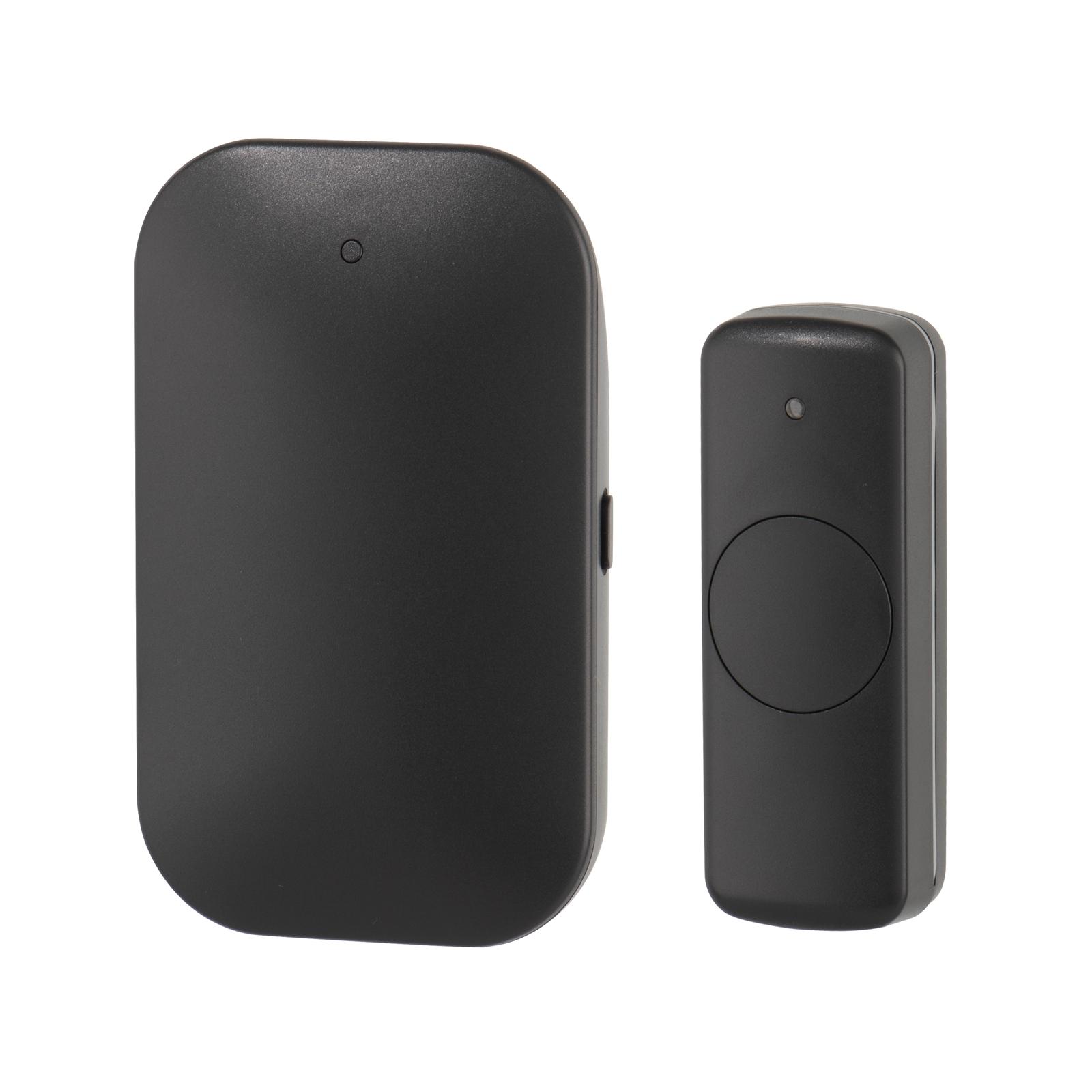 Arlec Black Enhanced Sound Plug In Door Chime