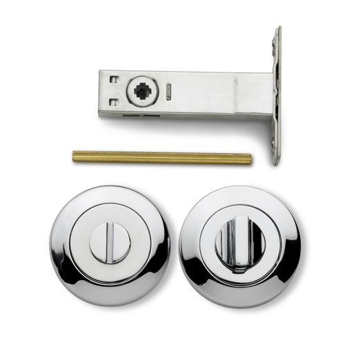 Lemaar Chrome Turn Button Privacy Set