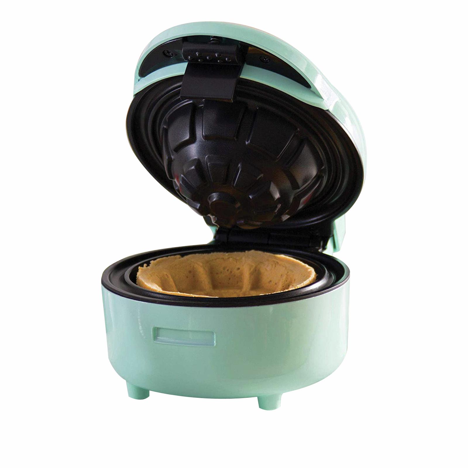 TODO 750W Green Waffle Bowl Maker Non stick