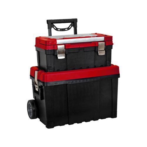 Trojan 2 in 1 Rolling Tool Box